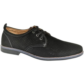 Topánky Muži Derbie & Richelieu Pur Pánske čierne poltopánky DAVIES čierna