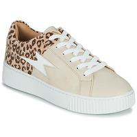 Topánky Ženy Nízke tenisky Vanessa Wu VENDAVEL Béžová / Leopard