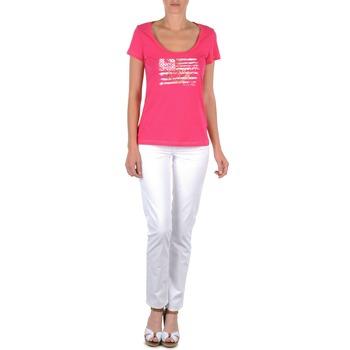 Oblečenie Ženy Nohavice päťvreckové Tommy Hilfiger LENNY Ružová