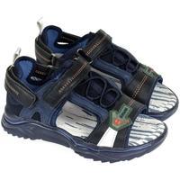 Topánky Chlapci Športové sandále John-C Detské modré sandále SUPER B. tmavomodrá