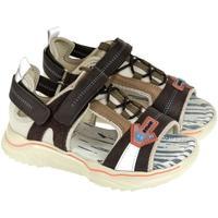 Topánky Chlapci Športové sandále John-C Detské hnedé sandále SUPER B. hnedá