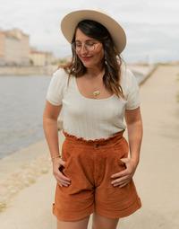 Oblečenie Ženy Blúzky Céleste ERABLE Krémová