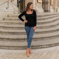 Oblečenie Ženy Svetre Céleste NYSSA Čierna