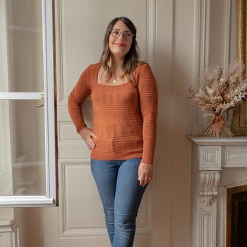 Oblečenie Ženy Svetre Céleste NYSSA Červená hrdzavá