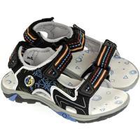 Topánky Chlapci Športové sandále Super Gear Detské čierne sandále JANÍK čierna