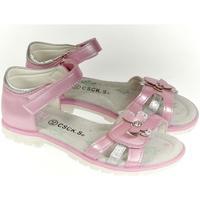 Topánky Dievčatá Sandále Csck.s Detské ružové sandále  MISS JOHANKA ružová