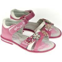 Topánky Dievčatá Sandále Csck.s Detské ružové sandále  MISS BABY ružová