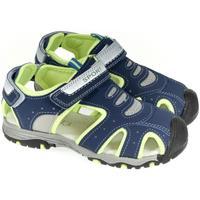 Topánky Chlapci Športové sandále Csck.s Detské tmavo-modré sandále  DEOS tmavomodrá