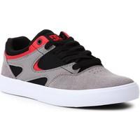 Topánky Muži Skate obuv DC Shoes DC Kalis Vulc ADJS300569-XKSR black, grey, red