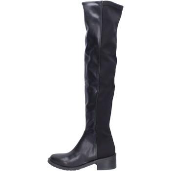 Topánky Ženy Cizmy Nad Kolenà Olga Rubini  Čierna