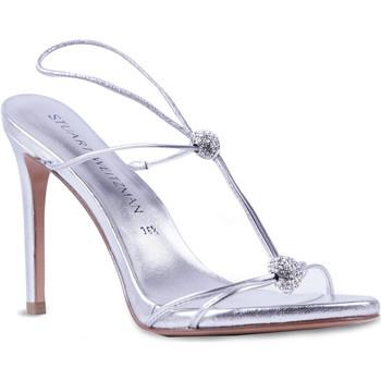 Topánky Ženy Sandále Stuart Weitzman VL09249 argento