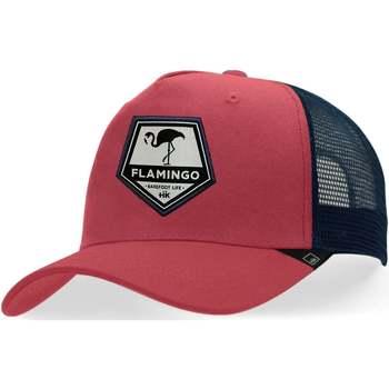 Textilné doplnky Šiltovky Hanukeii Flamingo Červená