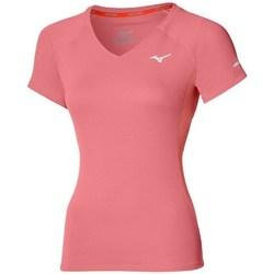 Oblečenie Ženy Tričká s krátkym rukávom Mizuno Drylite Tee W Ružová