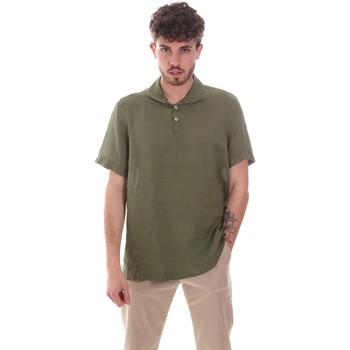 Oblečenie Muži Košele s krátkym rukávom Sseinse CE660SS Zelená