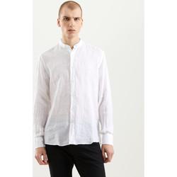 Oblečenie Muži Košele s dlhým rukávom Refrigiwear RM0C10100LI9110 Biely
