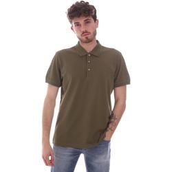 Oblečenie Muži Polokošele s krátkym rukávom Navigare NV82108 Zelená