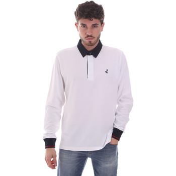 Oblečenie Muži Polokošele s dlhým rukávom Navigare NV32024 Biely