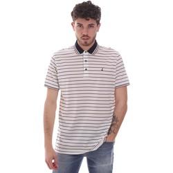 Oblečenie Muži Polokošele s krátkym rukávom Navigare NV70034 Biely