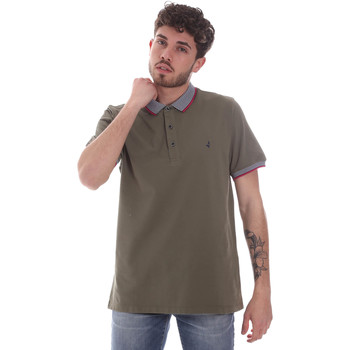 Oblečenie Muži Polokošele s krátkym rukávom Navigare NV82125 Zelená