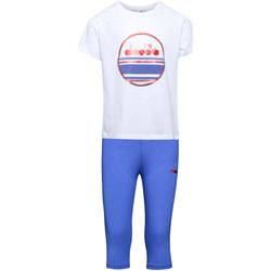 Oblečenie Deti Súpravy vrchného oblečenia Diadora 102175918 Biely