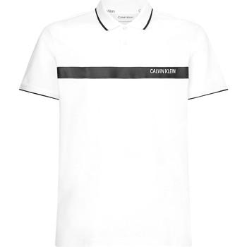 Oblečenie Muži Polokošele s krátkym rukávom Calvin Klein Jeans K10K106458 Biely