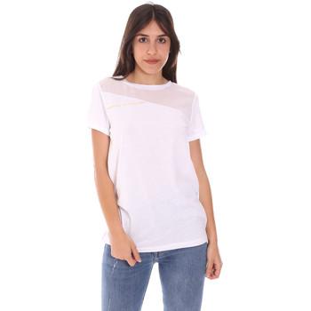 Oblečenie Ženy Tričká s krátkym rukávom Ea7 Emporio Armani 3KTT34 TJ4PZ Biely