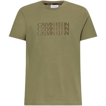 Oblečenie Muži Tričká s krátkym rukávom Calvin Klein Jeans K10K107158 Zelená