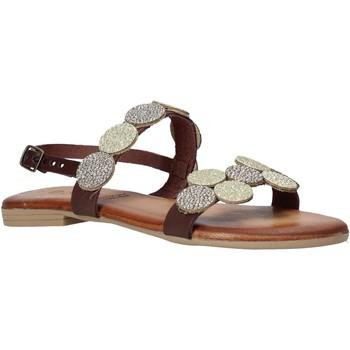 Topánky Ženy Sandále Dorea MH114 Hnedá