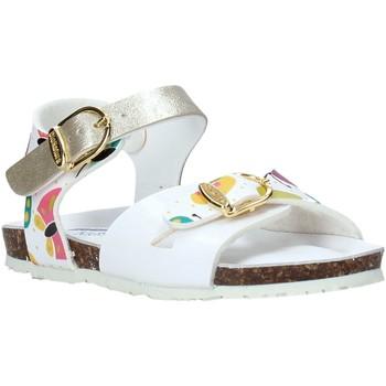 Topánky Dievčatá Sandále Bionatura CHIARA Biely