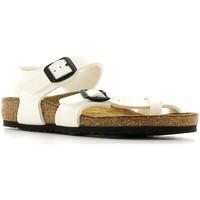 Topánky Deti Sandále Birkenstock 310063 Biely