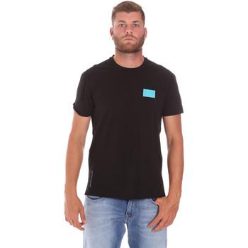 Oblečenie Muži Tričká s krátkym rukávom Ea7 Emporio Armani 3KPT50 PJAMZ čierna
