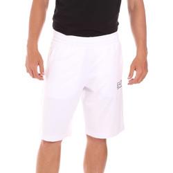 Oblečenie Muži Plavky  Ea7 Emporio Armani 3KPS59 PJ05Z Biely