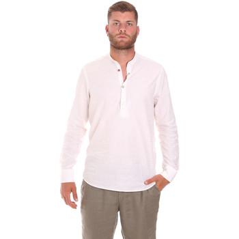 Oblečenie Muži Košele s dlhým rukávom Sseinse CE611SS Biely