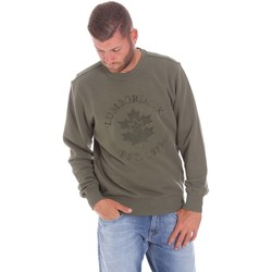 Oblečenie Muži Mikiny Lumberjack CM60142 016EU Zelená