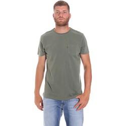 Oblečenie Muži Tričká s krátkym rukávom Lumberjack CM60343 022EU Zelená