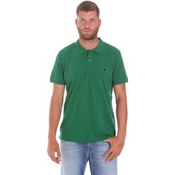 Oblečenie Muži Polokošele s krátkym rukávom Lumberjack CM45940 015EU 506 Zelená