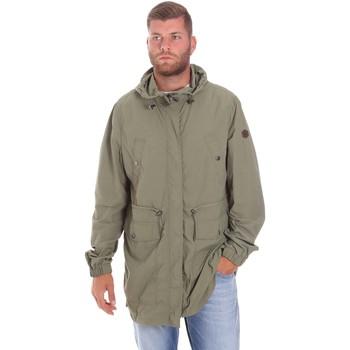 Oblečenie Muži Parky Lumberjack CWB3321 001EU Zelená