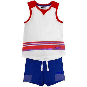 Oblečenie Deti Komplety a súpravy Diadora 102175915 Biely