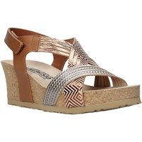 Topánky Ženy Sandále Mephisto P5137034 Hnedá