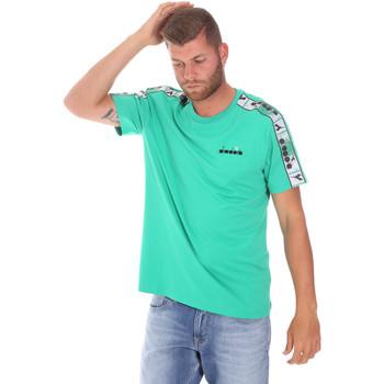 Oblečenie Muži Tričká s krátkym rukávom Diadora 502176085 Zelená