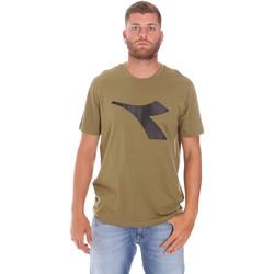 Oblečenie Muži Tričká s krátkym rukávom Diadora 102175852 Zelená