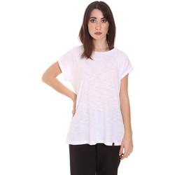 Oblečenie Ženy Tričká s krátkym rukávom Lumberjack CW60343 011EU Biely