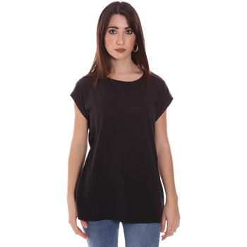 Oblečenie Ženy Tričká s krátkym rukávom Lumberjack CW60343 011EU čierna
