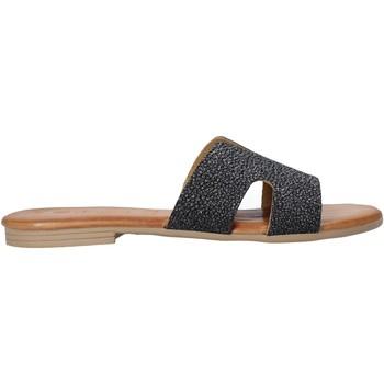Topánky Ženy Šľapky Dorea MH103 čierna