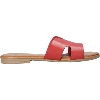 Topánky Ženy Šľapky Dorea MH102 Červená