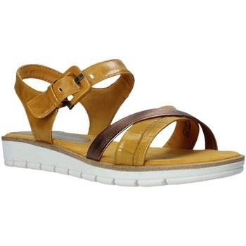 Topánky Ženy Sandále Marco Tozzi 2-2-28607-26 žltá