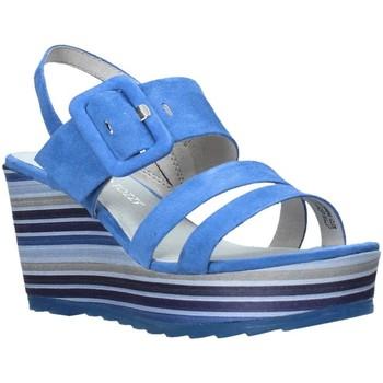 Topánky Ženy Sandále Marco Tozzi 2-2-28336-26 Modrá