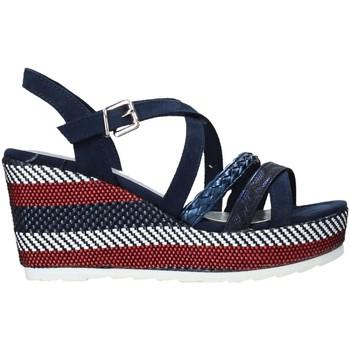 Topánky Ženy Sandále Marco Tozzi 2-2-28375-26 Modrá