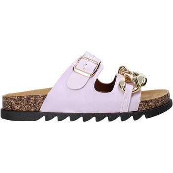 Topánky Ženy Šľapky Gold&gold A21 FL160 Fialový
