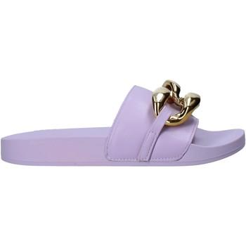 Topánky Ženy Šľapky Gold&gold A21 FL162 Fialový